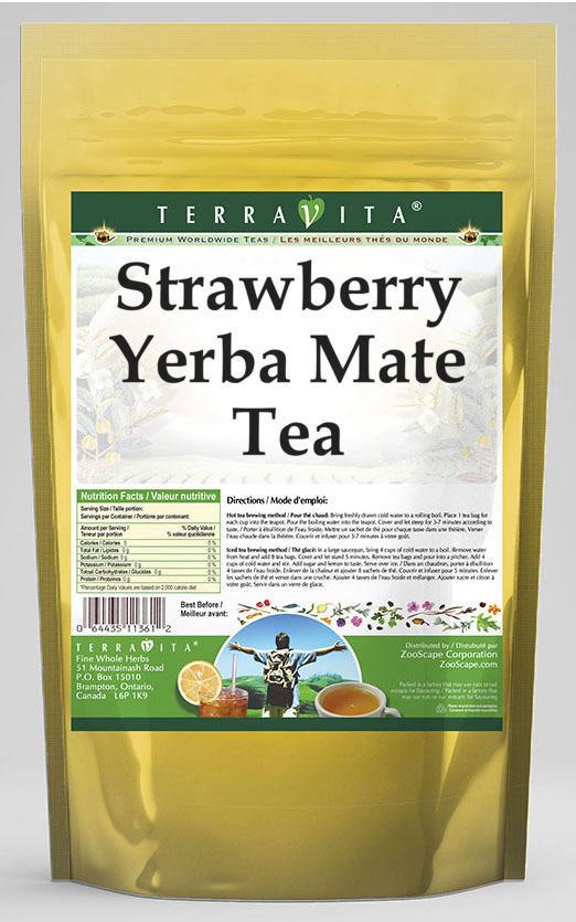 Strawberry Yerba Mate Tea