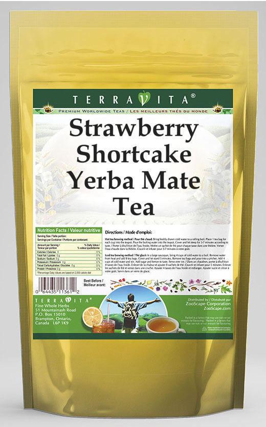 Strawberry Shortcake Yerba Mate Tea