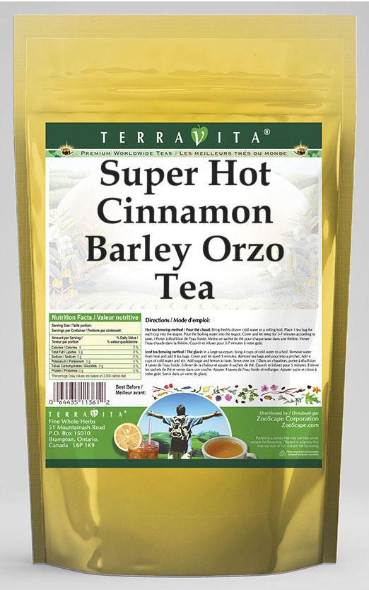 Super Hot Cinnamon Barley Orzo Tea
