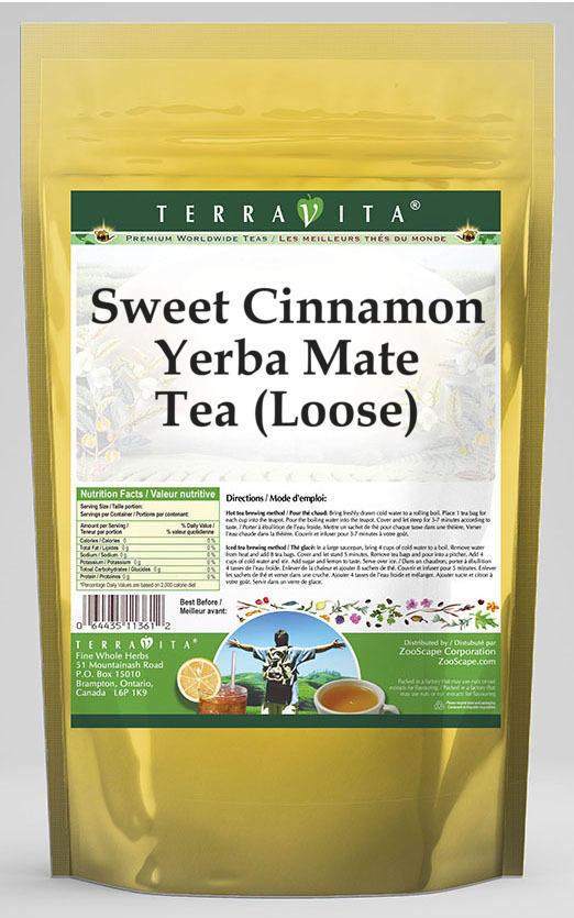 Sweet Cinnamon Yerba Mate Tea (Loose)