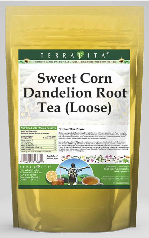 Sweet Corn Dandelion Root Tea (Loose)
