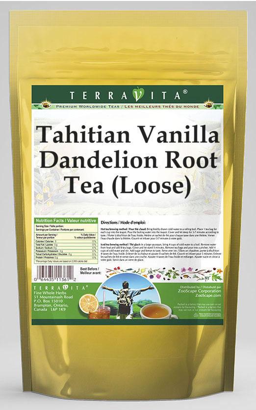 Tahitian Vanilla Dandelion Root Tea (Loose)