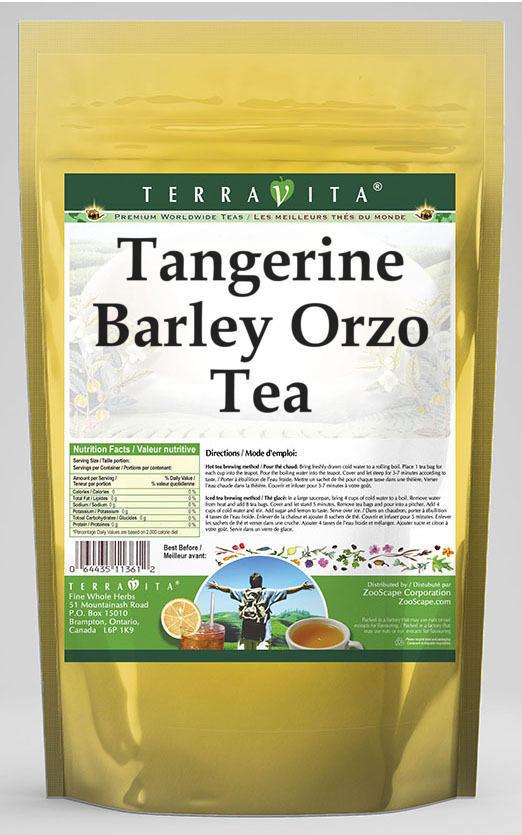 Tangerine Barley Orzo Tea