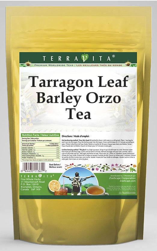 Tarragon Leaf Barley Orzo Tea