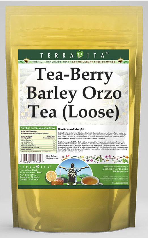 Tea-Berry Barley Orzo Tea (Loose)