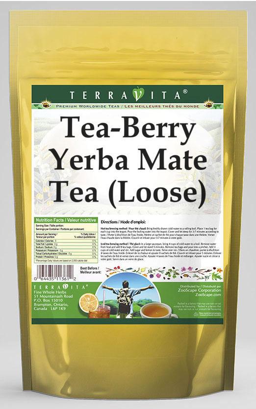 Tea-Berry Yerba Mate Tea (Loose)