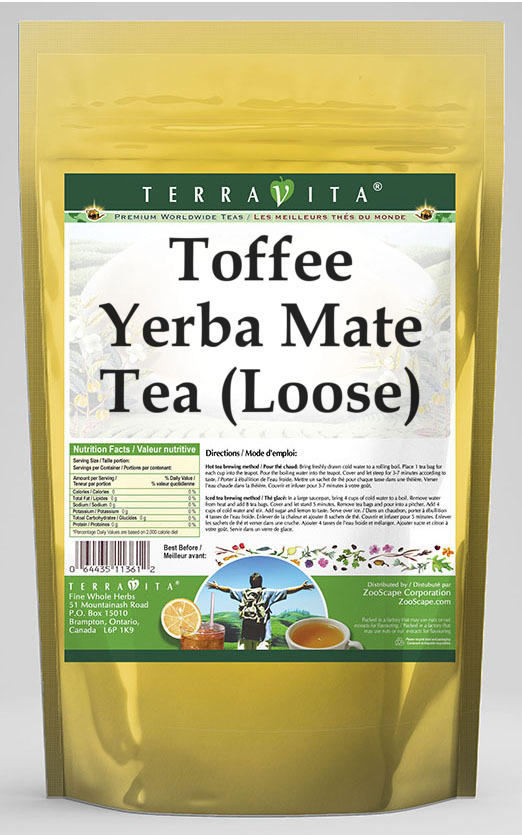 Toffee Yerba Mate Tea (Loose)