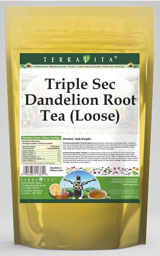 Triple Sec Dandelion Root Tea (Loose)