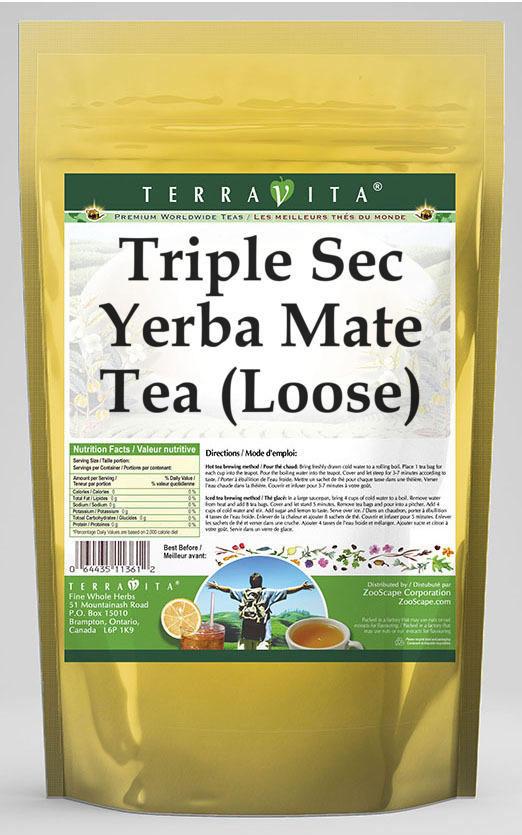 Triple Sec Yerba Mate Tea (Loose)