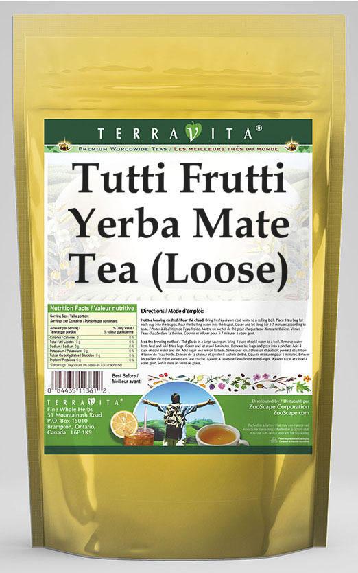 Tutti Frutti Yerba Mate Tea (Loose)
