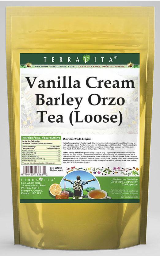 Vanilla Cream Barley Orzo Tea (Loose)