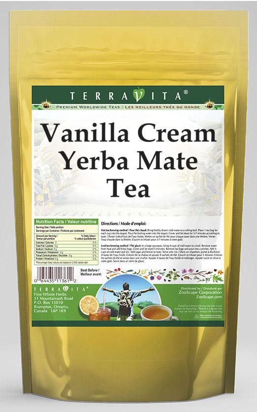 Vanilla Cream Yerba Mate Tea