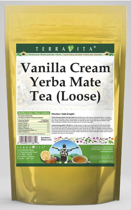 Vanilla Cream Yerba Mate Tea (Loose)