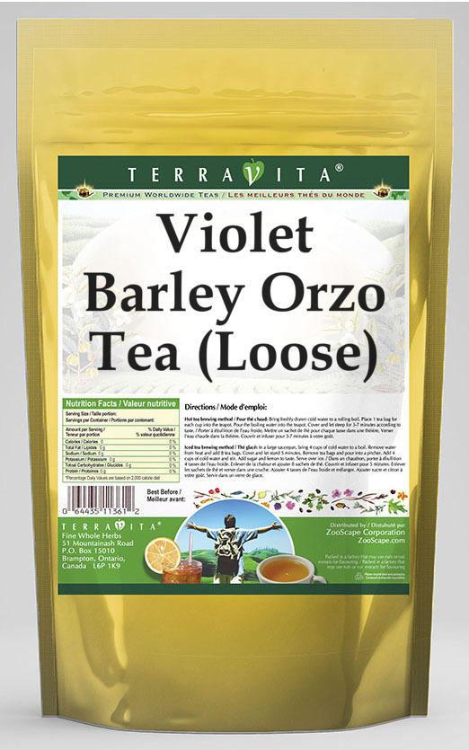 Violet Barley Orzo Tea (Loose)