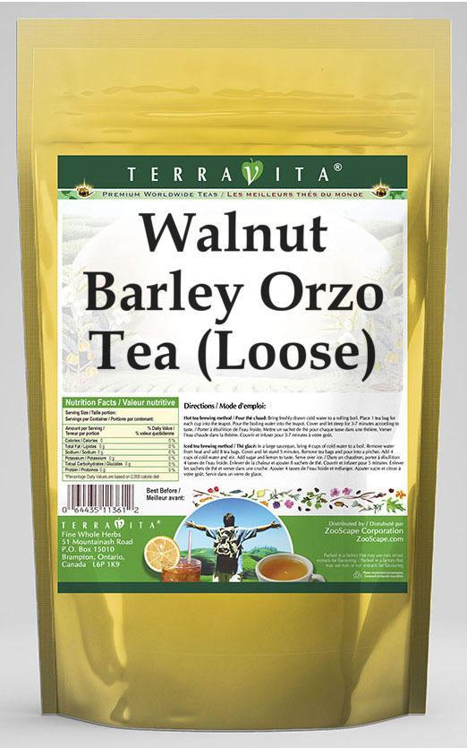 Walnut Barley Orzo Tea (Loose)
