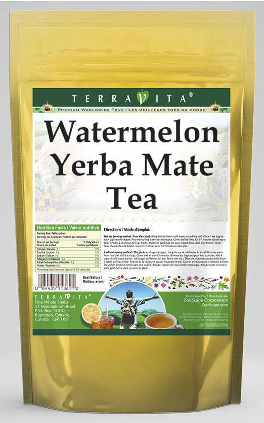Watermelon Yerba Mate Tea