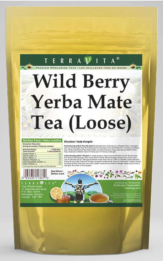 Wild Berry Yerba Mate Tea (Loose)