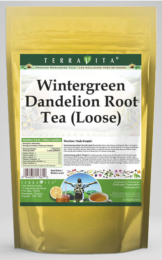 Wintergreen Dandelion Root Tea (Loose)