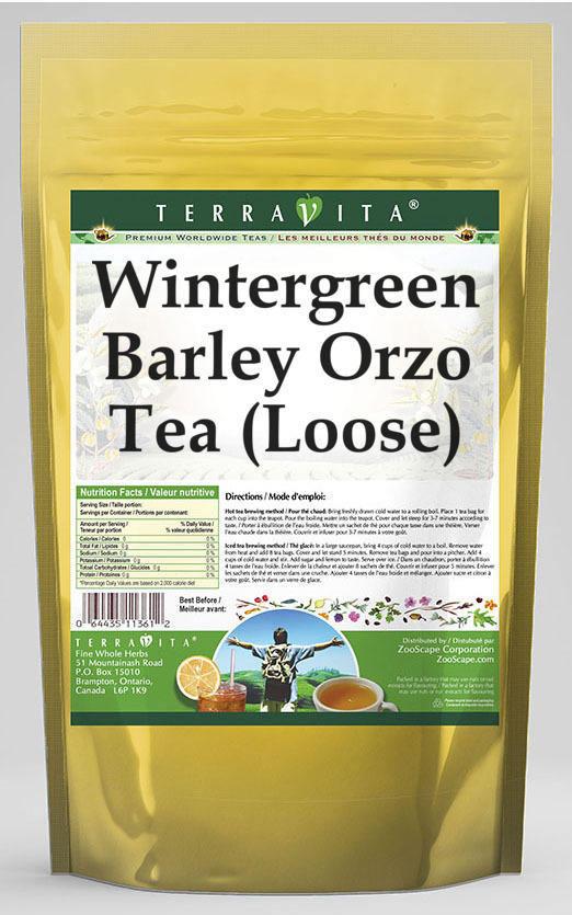 Wintergreen Barley Orzo Tea (Loose)