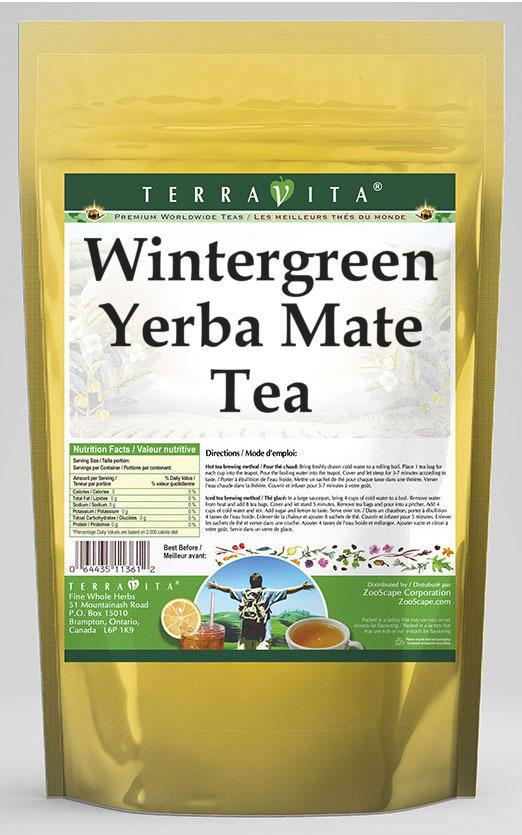 Wintergreen Yerba Mate Tea