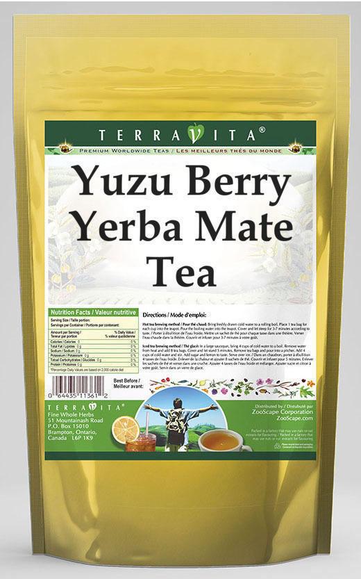 Yuzu Berry Yerba Mate Tea