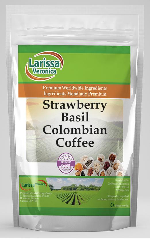 Strawberry Basil Colombian Coffee