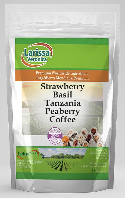 Strawberry Basil Tanzania Peaberry Coffee