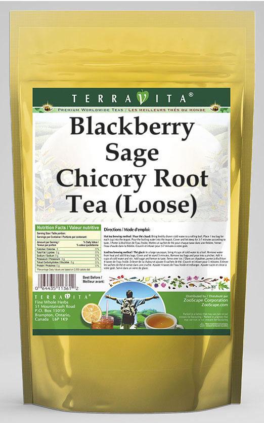 Blackberry Sage Chicory Root Tea (Loose)