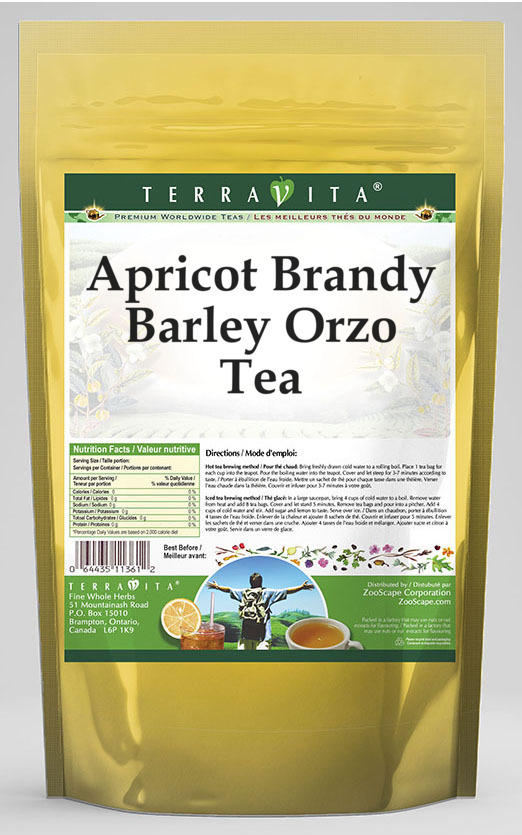 Apricot Brandy Barley Orzo Tea