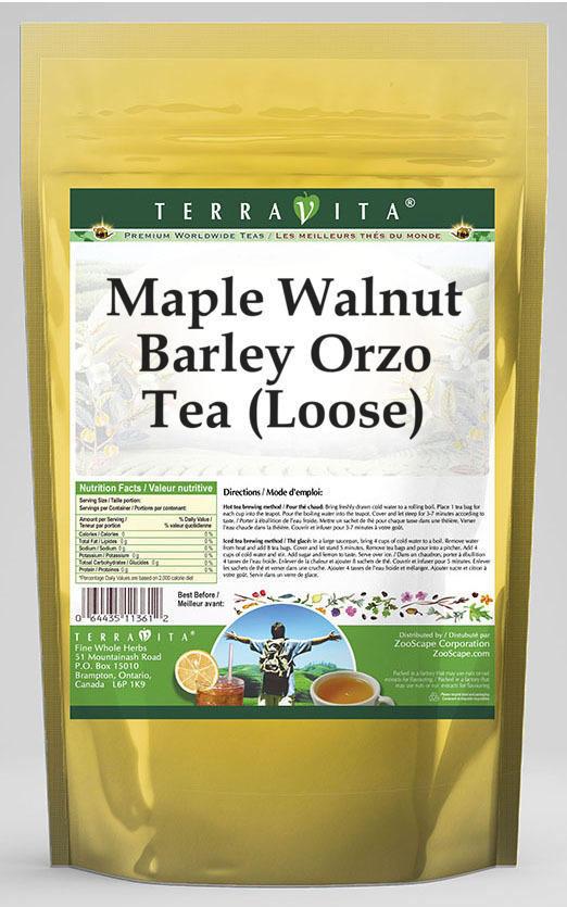 Maple Walnut Barley Orzo Tea (Loose)