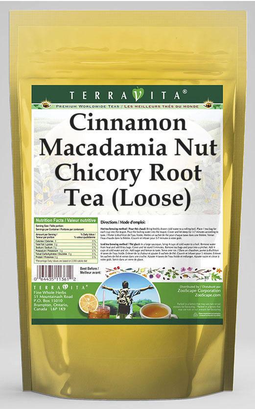 Cinnamon Macadamia Nut Chicory Root Tea (Loose)