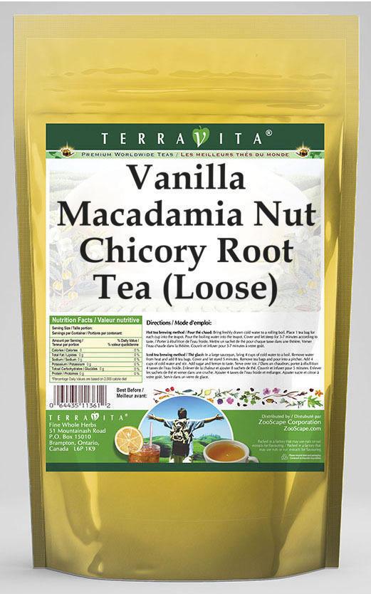 Vanilla Macadamia Nut Chicory Root Tea (Loose)