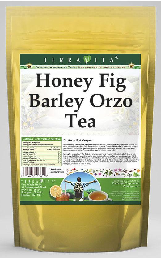 Honey Fig Barley Orzo Tea