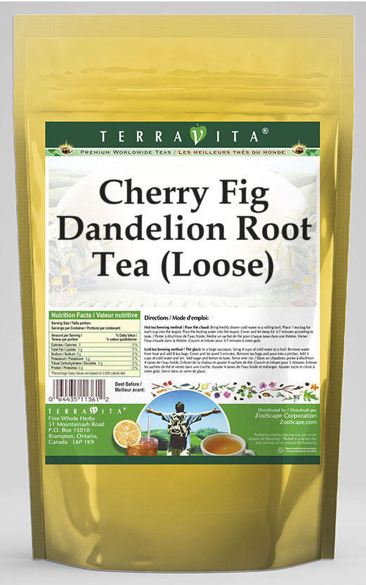 Cherry Fig Dandelion Root Tea (Loose)