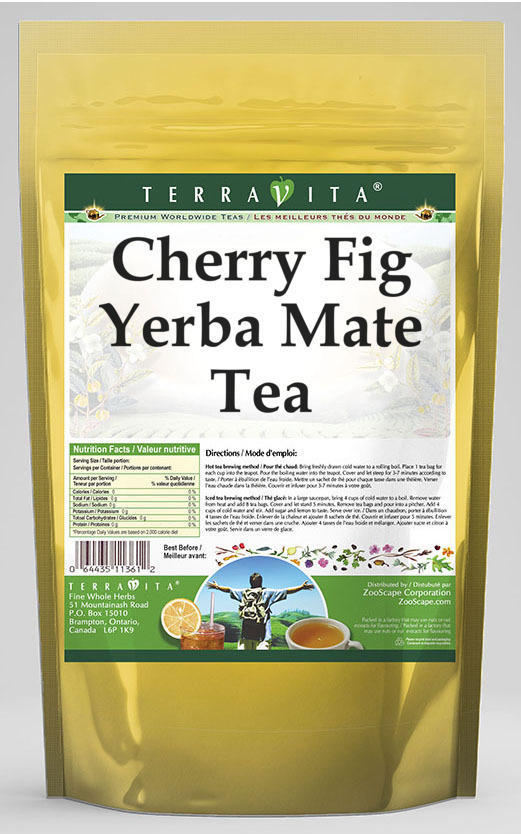 Cherry Fig Yerba Mate Tea