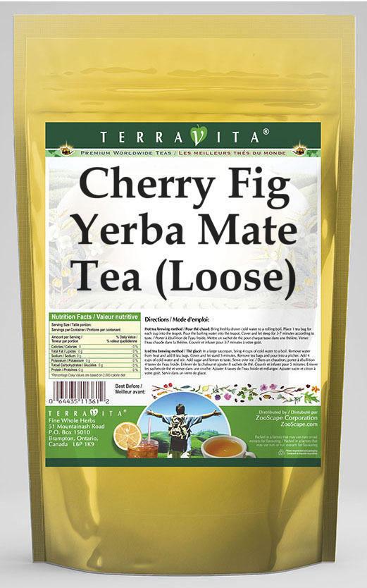 Cherry Fig Yerba Mate Tea (Loose)