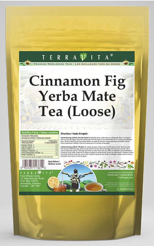 Cinnamon Fig Yerba Mate Tea (Loose)