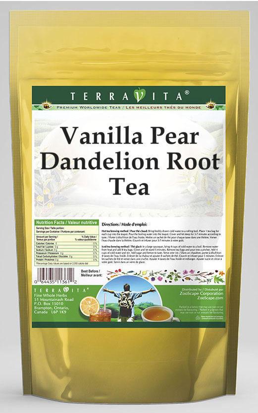 Vanilla Pear Dandelion Root Tea