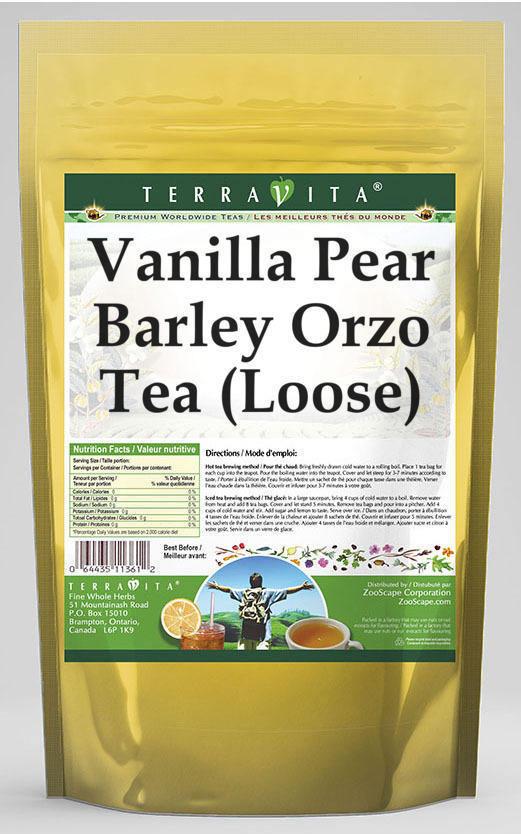 Vanilla Pear Barley Orzo Tea (Loose)