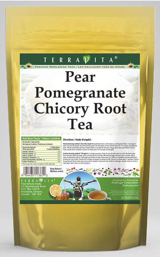 Pear Pomegranate Chicory Root Tea