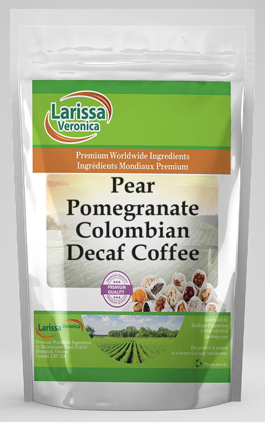 Pear Pomegranate Colombian Decaf Coffee