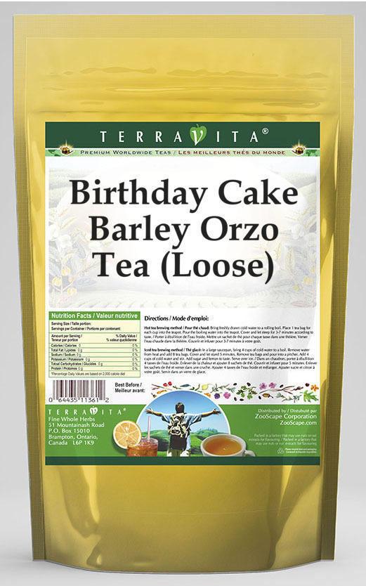 Birthday Cake Barley Orzo Tea (Loose)