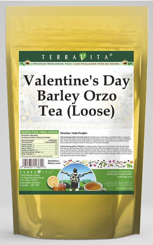 Valentine's Day Barley Orzo Tea (Loose)