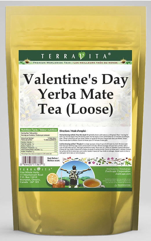 Valentine's Day Yerba Mate Tea (Loose)