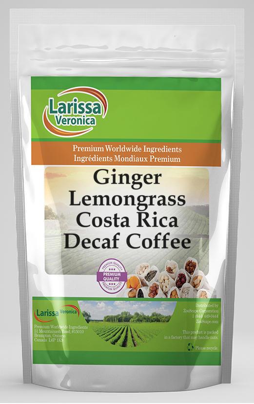 Ginger Lemongrass Costa Rica Decaf Coffee