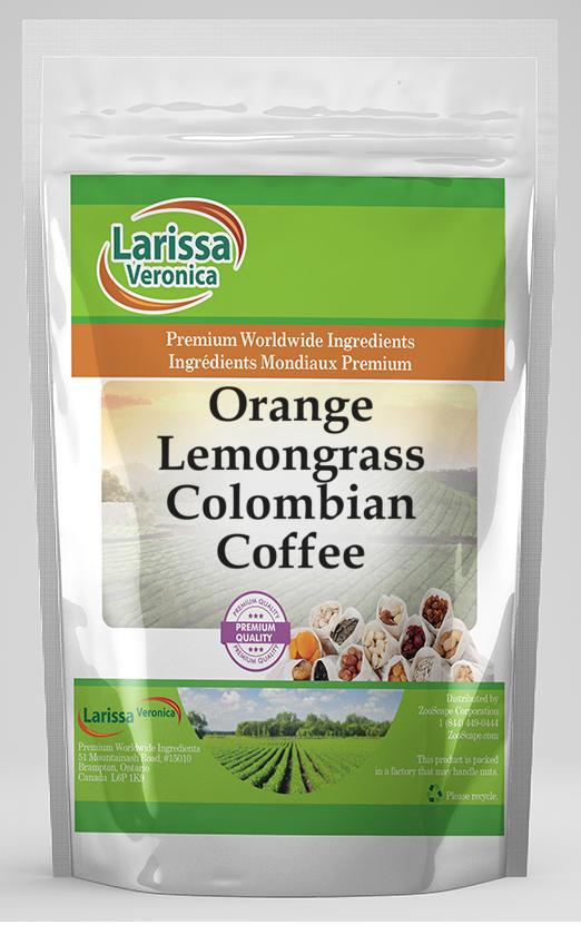 Orange Lemongrass Colombian Coffee