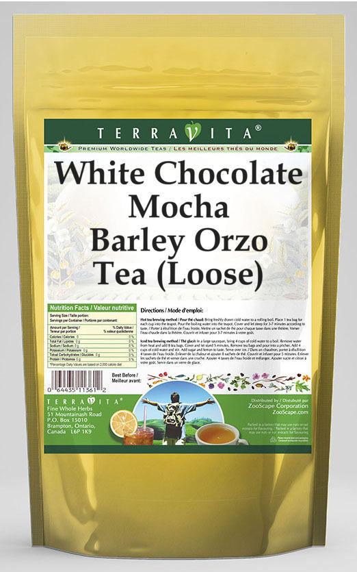 White Chocolate Mocha Barley Orzo Tea (Loose)