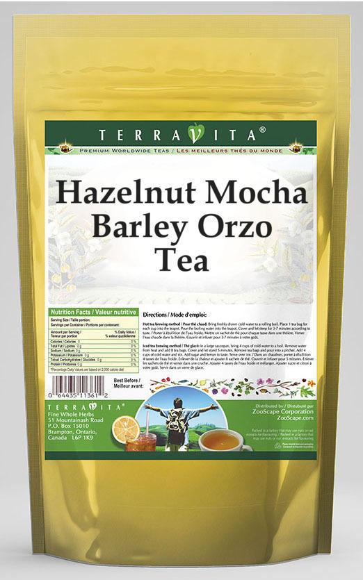 Hazelnut Mocha Barley Orzo Tea