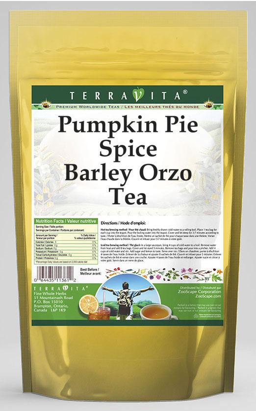 Pumpkin Pie Spice Barley Orzo Tea