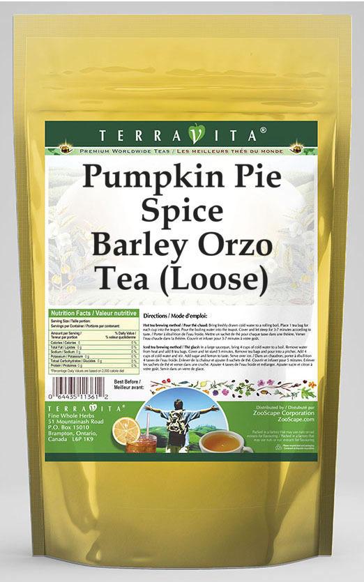 Pumpkin Pie Spice Barley Orzo Tea (Loose)